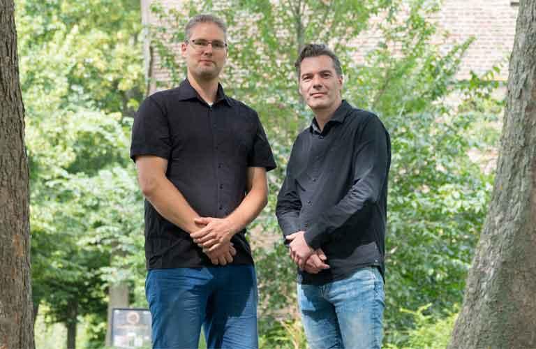 Johan de Smeth en Klaus Kok