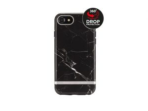 Richmond & Finch Freedom Series Apple iPhone 6/6S/7/8/SE (2020) Black Marble/Silver