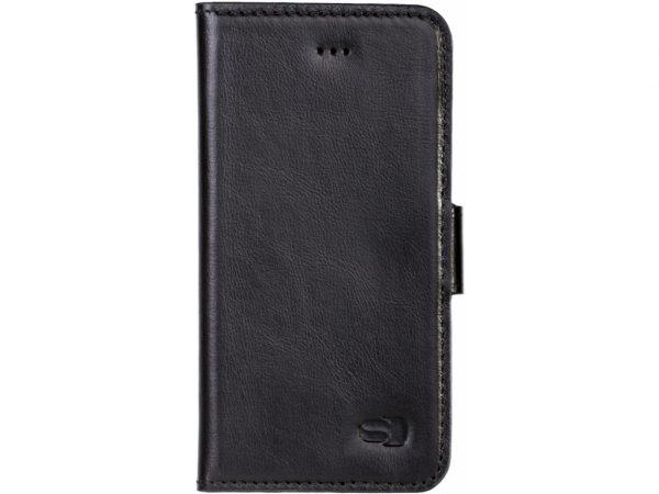 senza leather wallet iphone 7 8 se deep black