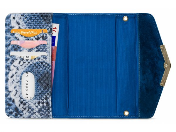 mobilize 2in1 gelly velvet clutch iphone x xs royal blue snake