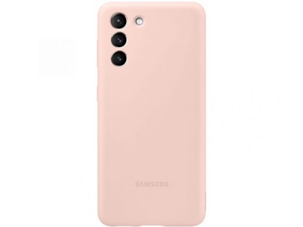 samsung silicone cover galaxy s21 pink
