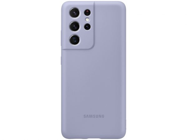 samsung silicone cover galaxy s21 ultra violet